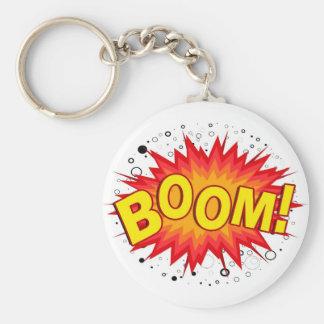 Boom! Key Ring