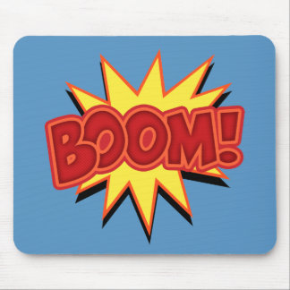Boom! Mouse Pad