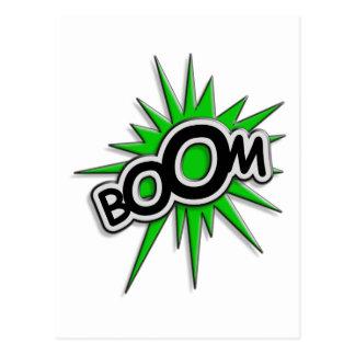 Boom Post Card