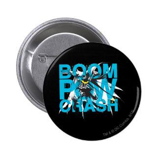 Boom Pow Crash 6 Cm Round Badge
