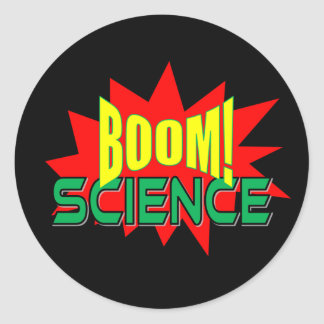 Boom! Science sticker pack