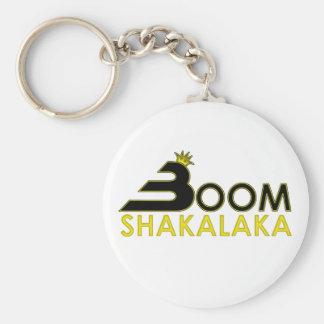 Boom Shakalaka Basic Round Button Key Ring