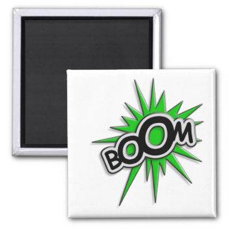 Boom Square Magnet