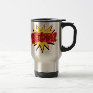 Boom! Stainless Steel Travel Mug