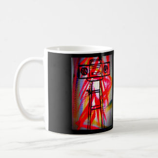 Boombox Art Coffee Mug