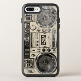 Boombox Art iPhone 7 Plus Otterbox Case