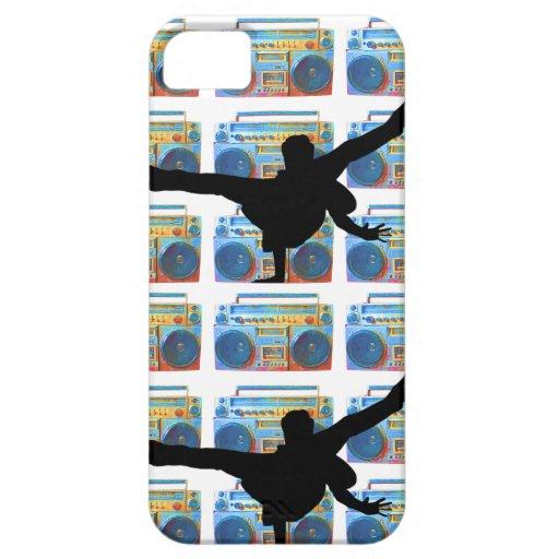 Boombox B-Boy iPhone 5 Cover