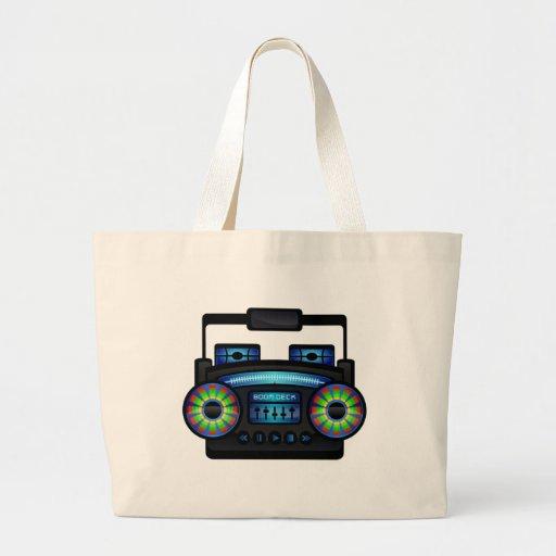 Boombox Canvas Bag