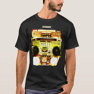 Boombox Color Fade ( Yellow ) T-Shirt