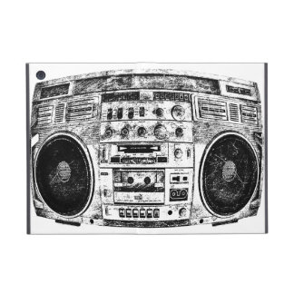 Boombox graffiti iPad mini cover