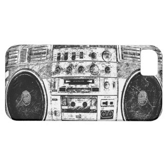 Boombox graffiti iPhone 5 covers