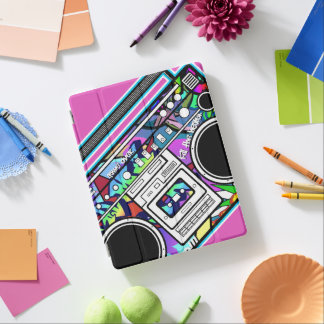 Boombox iPad Cover