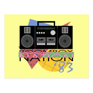 Boombox Nation 83 Postcard