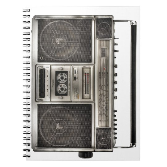 Boombox Notebooks