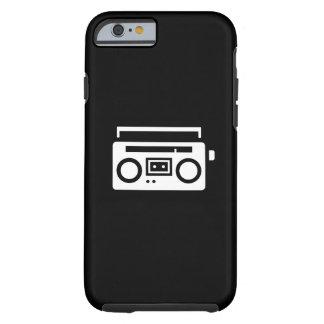 Boombox Pictogram iPhone 6 Case Tough iPhone 6 Case