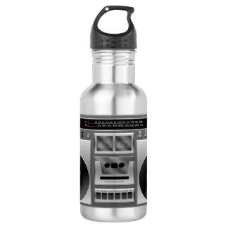 Boombox Radio Graphic 532 Ml Water Bottle