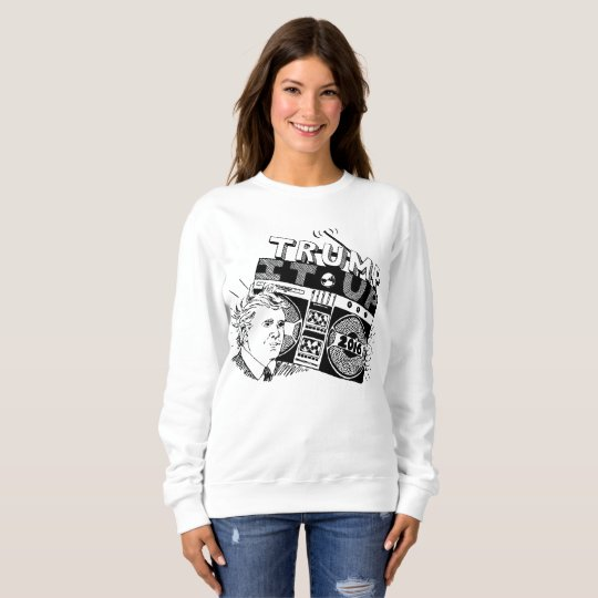 Boombox TRUMP IT UP Crewneck Sweatshirt