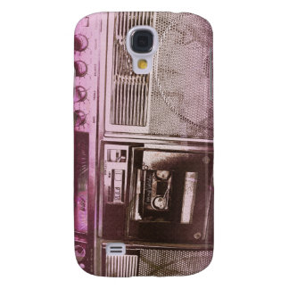 Boomboxer red pink galaxy s4 case