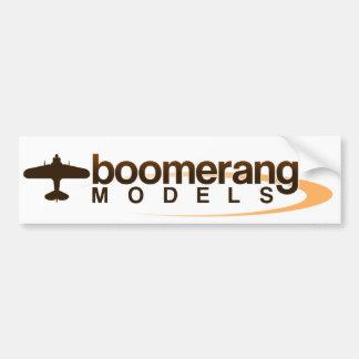 Boomerang Models Bumper Sticker