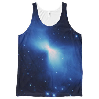 Boomerang Nebula in space NASA All-Over Print Tank Top