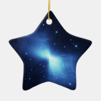 Boomerang Nebula in space NASA Christmas Ornament