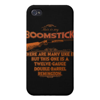 Boomstick Creed iPhone 4 Cases