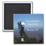 Boon Mountain Range Square Magnet