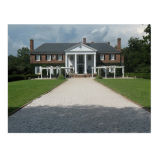 Boone Hall Plantation, Charleston SC Postcard