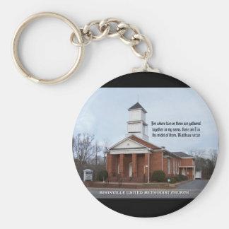 BOONVILLE UNITED METHODIST CHURCH-KEYCHAIN