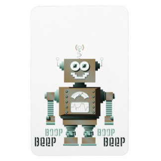 Boop Beep Toy Robot Magnet (lt)