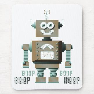 Boop Beep Toy Robot Mousepad (lt)