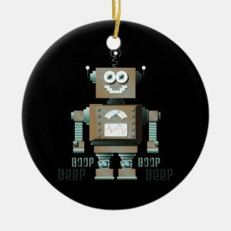 Boop Beep Toy Robot Ornament (dk)