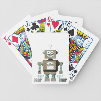 Boop Beep Toy Robot Playing Cards (lt)
