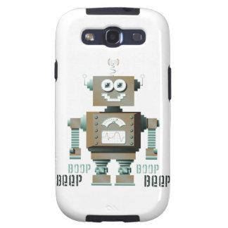 Boop Beep Toy Robot Samsung Galaxy Case (lt) Galaxy S3 Case