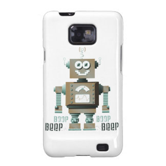 Boop Beep Toy Robot Samsung Galaxy Case (lt) Galaxy SII Cover