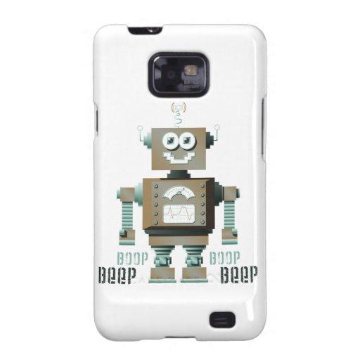 Boop Beep Toy Robot Samsung Galaxy Case (lt) Galaxy SII Cover