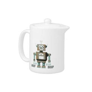 Boop Beep Toy Robot Teapot