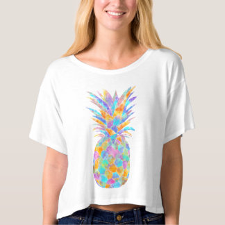 Boopoobeedoo multicolour pineapple T-Shirt