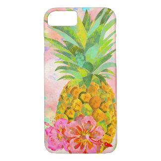 BooPooBeeDoo pineapple hibiscus iPhone 8/7 Case