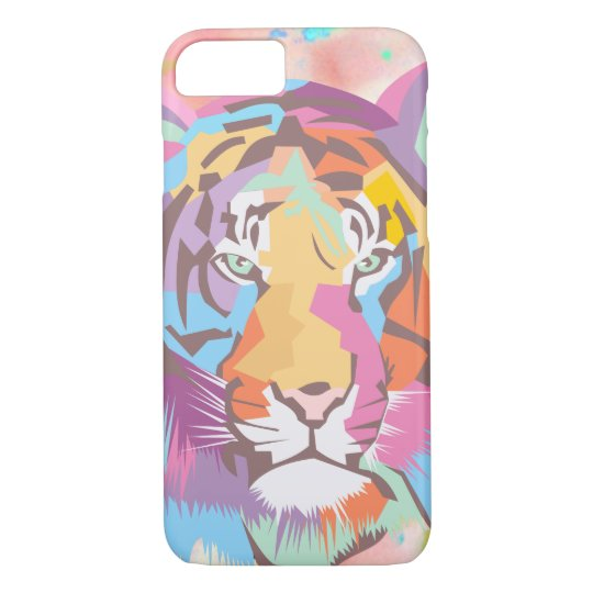 BooPooBeeDoo tiger face iPhone 8/7 Case