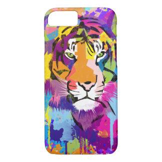 BooPooBeeDoo tiger splatter iPhone 8/7 Case