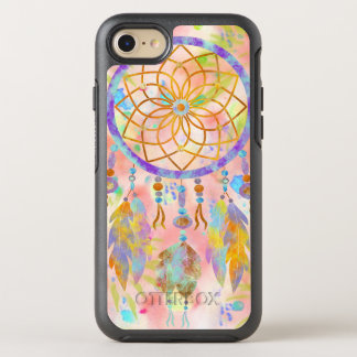 BooPooBeeDoo watercolor dreamcatcher OtterBox Symmetry iPhone 7 Case