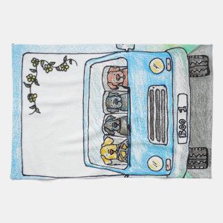 Boo's Van Hand Towels
