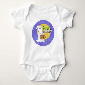 Boo's your Daddy? - Halloween Ghost & Pumpkin Baby Bodysuit