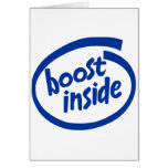 Boost Inside Greeting Cards