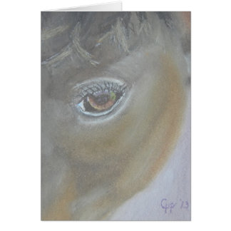 Boost My Ego - Horse Painting Card