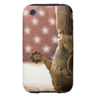 Boot and spur iPhone 3 tough case