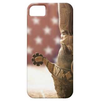 Boot and spur iPhone 5 cover