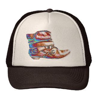 Boot art Cap Trucker Hat
