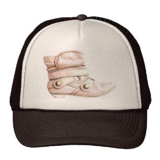 Boot Art Cap